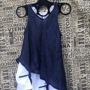 Vanity size XXL linen blouse